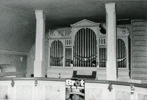 Orgel, vermutlich 1979