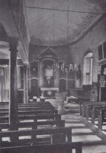 Kirche, Blick zum Altar, 1934