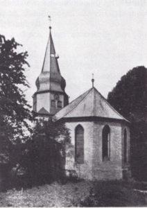 Kirche, Ansicht von Südosten, 1929