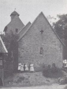 ehem. Kapelle, 1904 abgebrochen, Ansicht von Südosten