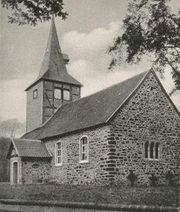 Kirche, Ansicht von Südosten, 1940
