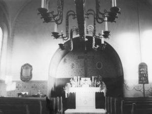 Kirche, Blick zum Altar, vor 1959