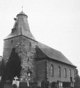 Heinde Kirche, Ansicht von Südwesten, vor 1957