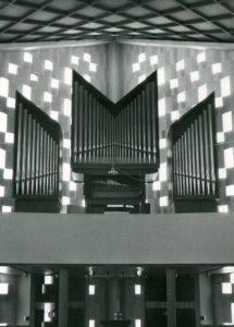 Orgel, nach 1966 (1966 Orgelneubau)