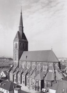 Kirche, Ansicht von Südosten, Foto: Ernst Witt, Hannover, 1966