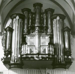Orgel, vermutlich 1982