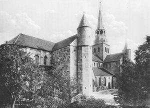 Kirche, Ansicht von Südwesten, 1911
