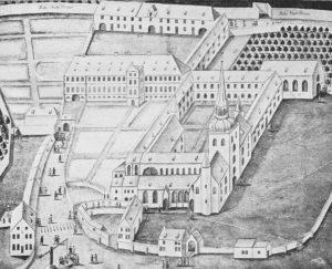 ehem. Michaeliskloster, 1729
