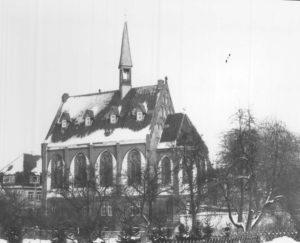 Kirche, Ansicht von Südosten, um 1980