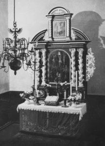 Altaraufsatz, um 1952