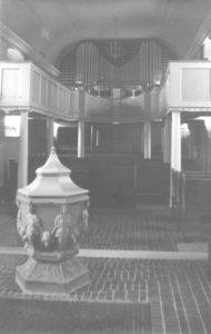 Kirche, Blick zur Orgel, nach 1934