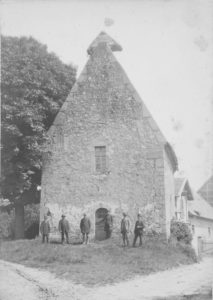 ehem. Kapelle, Ansicht von Südwesten, vor 1901, Foto: O. Hochecker, Hildesheim (?)