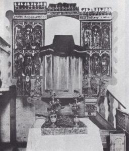 ehem. Kanzelaltar, vor 1892