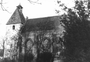 Kirche, Ansicht von Süden, vor 1957