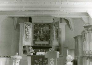 Kirche, Blick nach Osten, 1975