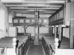 Kirche, Blick nach Westen, vor 1961 (?)