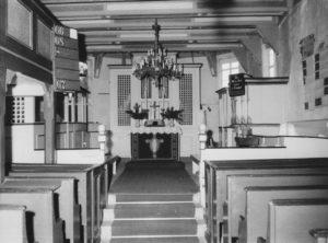 Kirche, Blick nach Osten, vor 1961