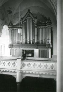 Kirche, Orgel, vermutlich 1978