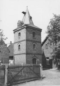 Glockenturm, um 1870 erbaut