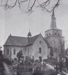 Kirche, Ansicht von Nordosten, 1934