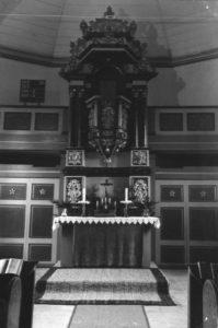 Kanzelaltar, um 1960
