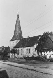 Nikolauskirche (alte Kirche), Ansicht von Südosten, 1951