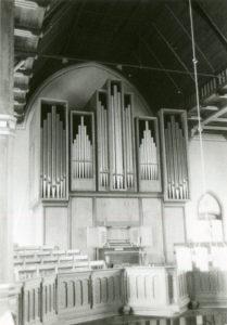 Matthäuskirche, Orgel, nach 1983