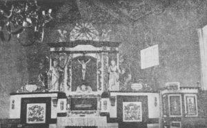 Altarretabel, Kanzel, 1942