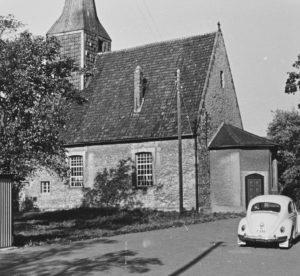 Kirche, Ansicht von Südosten, 1961
