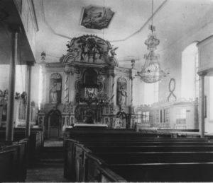Blick zum Altar, 1895