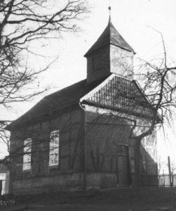 Kapelle, Ansicht von Nordwesten, um 1960