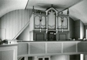 Orgel, 1977, Fotograf: Dawin