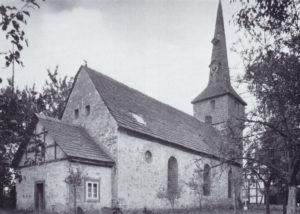 Kirche, Ansicht von Südosten, 1936