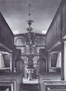 Kirche, Blick zum Altar, 1936