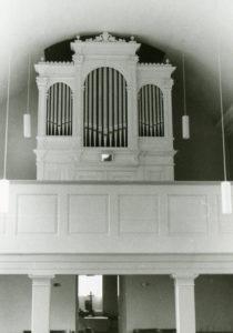 Orgel, vermutlich 1975