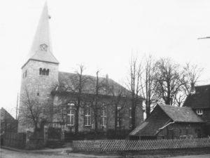 Kirche, Ansicht von Südwesten, 1957 (?)