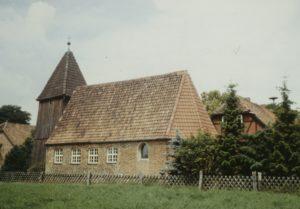 Kapelle, Ansicht von Südosten, Foto: P. Greve, Jöllenbeck (?), um 1988