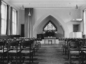 Lutherkapelle, Blick zum Altar