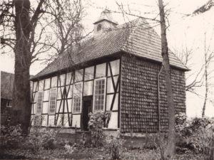 St. Nicolai-Kirche (Horstkapelle), Außenansicht, 1957 (?)