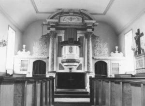 St. Nicolai-Kirche (Horstkapelle), Blick zum Altar