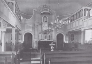 Kirche, Blick zum Altar, 1935