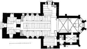 Kirche, Grundriss, 1938