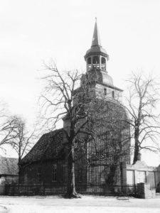 St. Georg-Kirche, Ansicht von Nordwesten, 1958 (?)