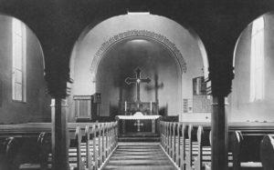 Kirche, Blick zum Altar, 1933