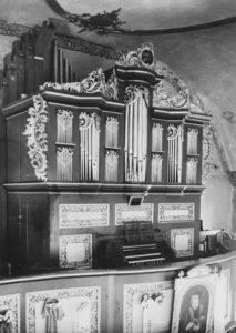 Orgel, 1952