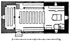 Kapelle, Grundriss, 1938