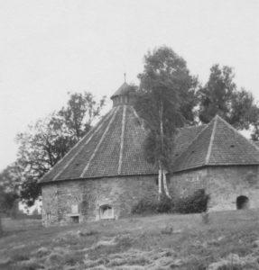 Kapelle, Außenansicht, Foto: Ernst Witt, Hannover, Juli 1958