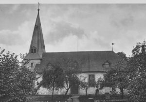 Kirche, Ansicht von Süden