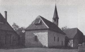 Kapelle, Ansicht von Nordosten, 1934