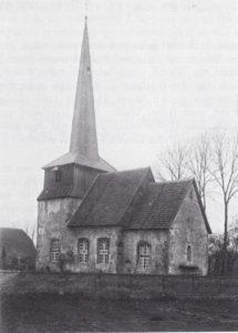 Kirche, Ansicht von Südosten, 1899